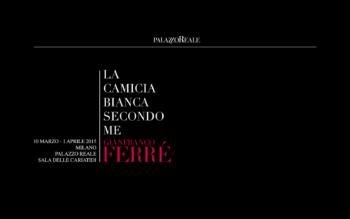 The white shirt according to me. Gianfranco Ferré