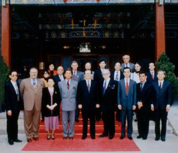 Incontro con il Presidente della Repubblica Popolare Cinese