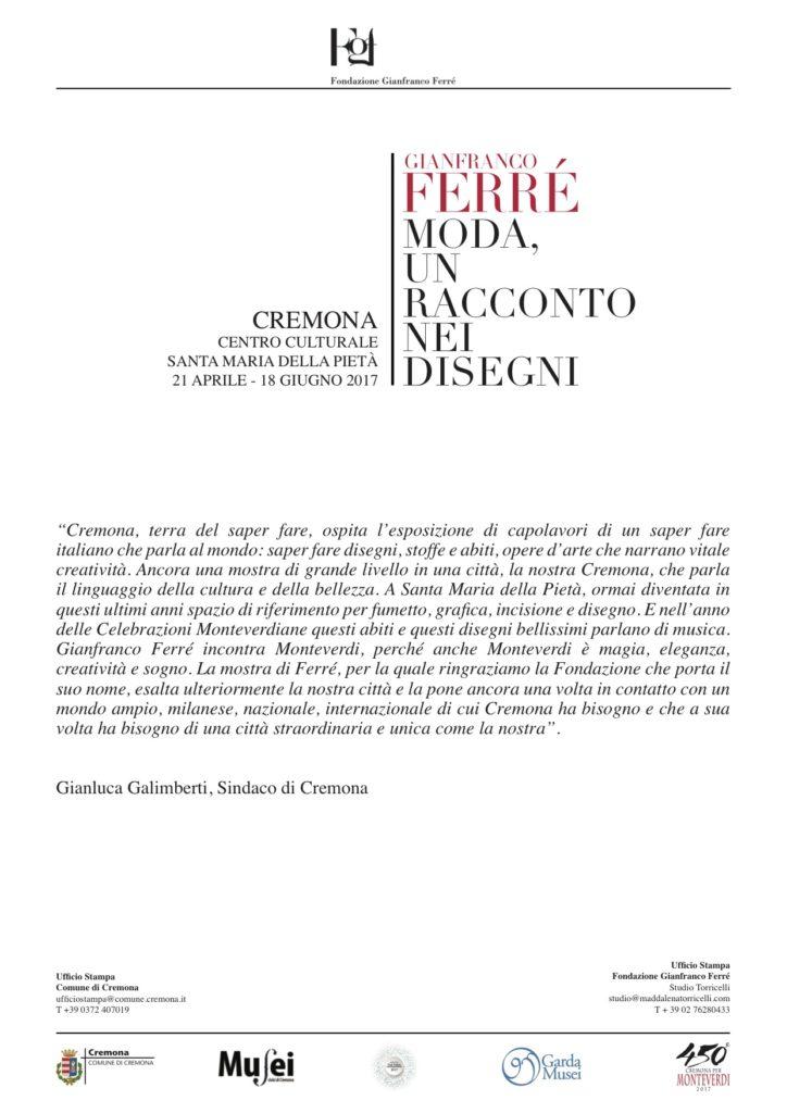 Testo Gianluca Galimberti
