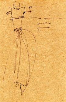 disegno su carta riso (New Delhi)