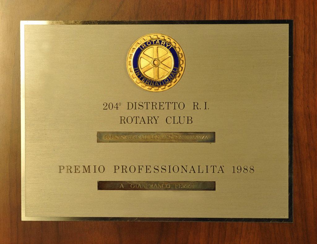 Premio Rotary Professionalità