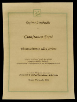 Premio alla carriera