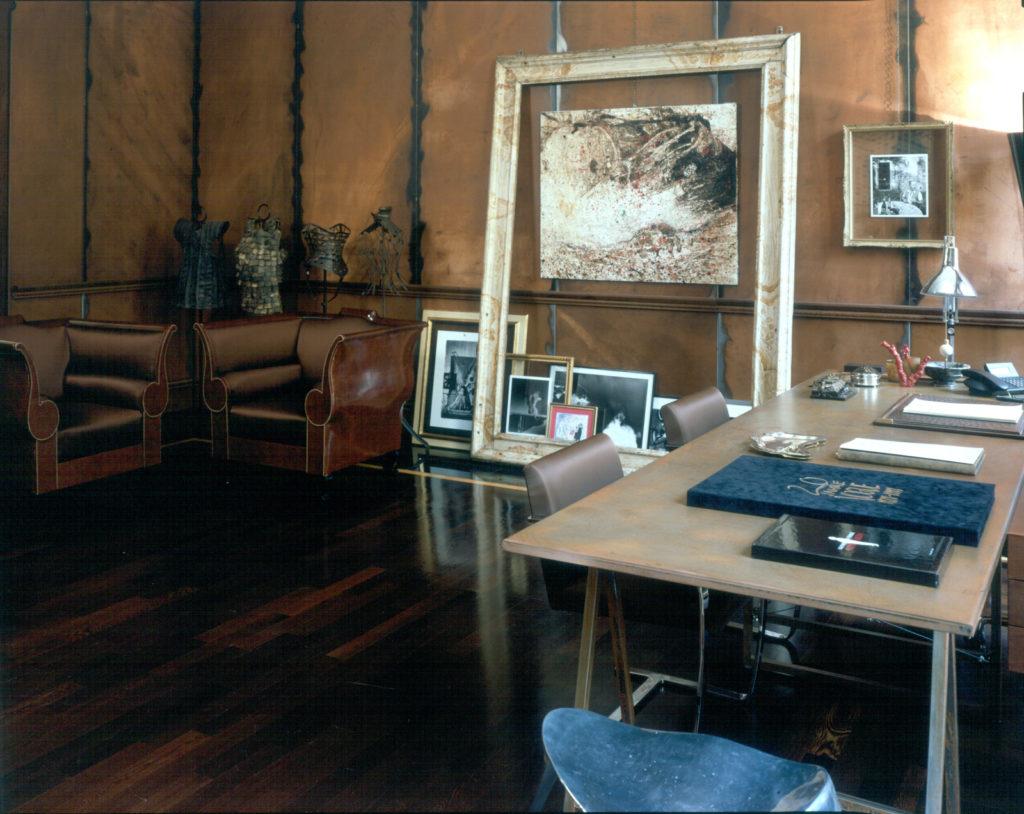 studio dell'Architetto Ferré nella sede di via Pontaccio 21
