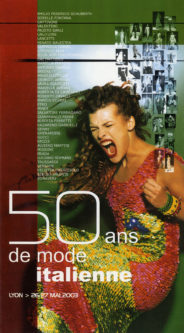 """catalogo della mostra """"50 ans de mode italienne"""""""