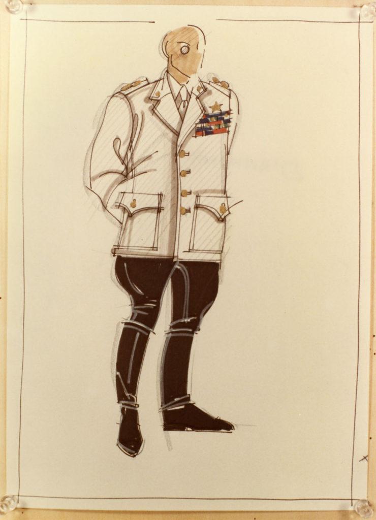costume di Gabriele D'Annunzio