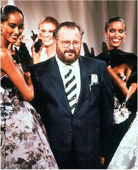 finale della collezione Dior Couture A/I 1989-90