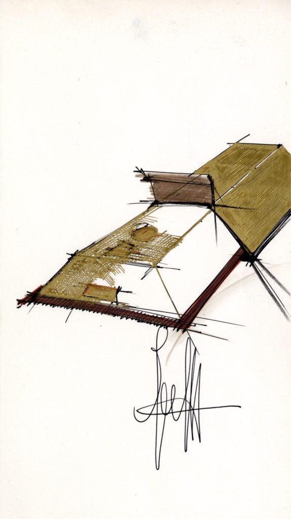 disegno del gateau