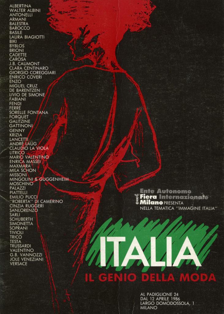 """catalogo della mostra """"Italia: il genio della Moda"""""""