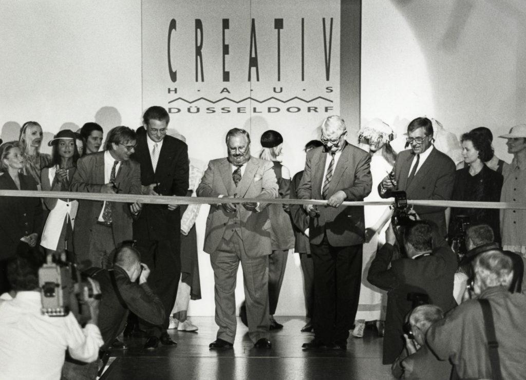 """inaugurazione della """"Creative Haus"""""""