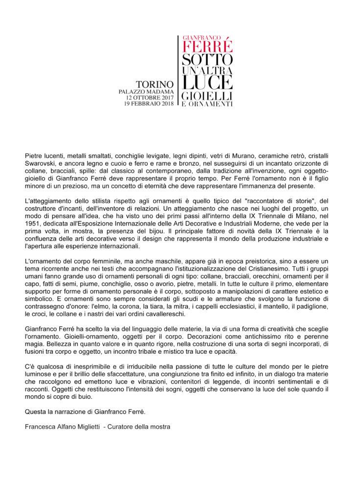 Testo Francesca Alfano Miglietti