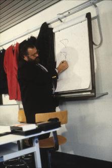 lezione alla Domus Academy