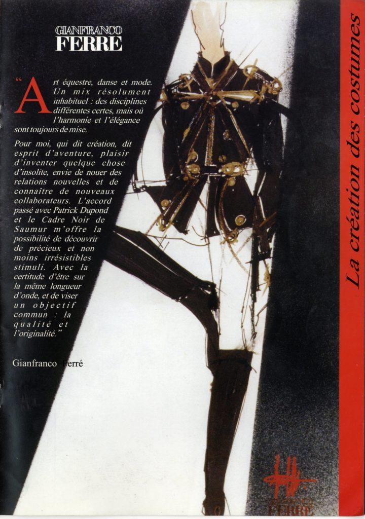"""costumi per """"Le ballet du cadre noir de Saumur"""""""
