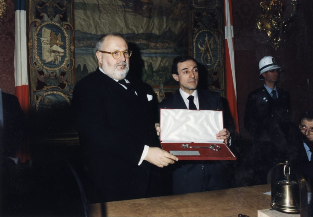 Consegna delle chiavi della Città di Como