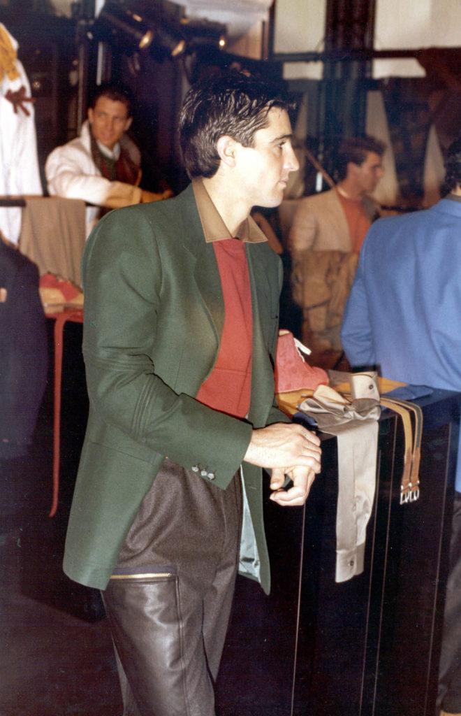 Dalla prima collezione A/I 1982