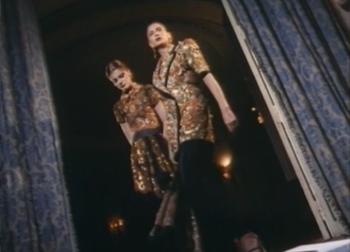 Haute Couture Backstage, Rome, 1989 January